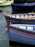 De Vissersboten van Malta Stock Foto