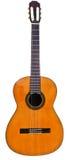 De vista completa da guitarra acústica clássica Imagem de Stock Royalty Free