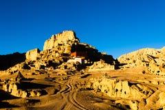De vista completa de ruínas de Guge Imagem de Stock Royalty Free