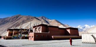 De vista completa do templo de Tuojiasi Fotografia de Stock