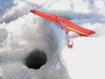 De vistuigen van het ijs Stock Afbeelding