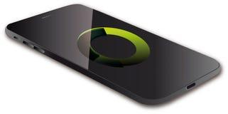De visuele vectorillustratie van Smartphone Stock Afbeeldingen
