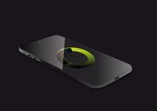 De visuele vectorillustratie van Smartphone Stock Afbeelding