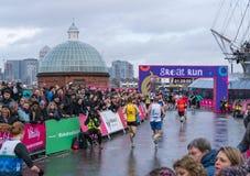 De Vitaliteits Grote Halve Marathon in Londen royalty-vrije stock afbeeldingen