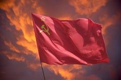 De vlag Stock Foto's
