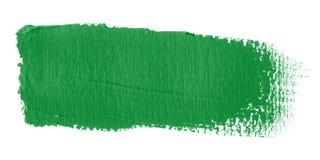 De Vlag Libië van de penseelstreek Stock Foto's