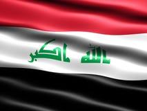 de vlag van 2008 van Irak Stock Foto's