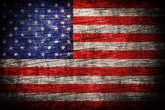De vlag van Amerika stock afbeelding