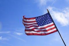 De vlag van Amerika Stock Afbeeldingen