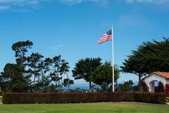 De vlag van Amerika Royalty-vrije Stock Foto's