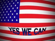 De vlag van Amerika stock illustratie