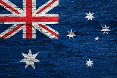 De Vlag van Australië royalty-vrije stock fotografie
