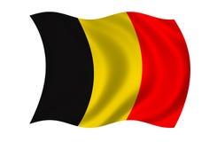 De Vlag van België Royalty-vrije Stock Foto's