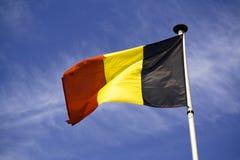 De vlag van België Stock Afbeeldingen