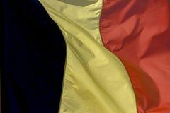 De Vlag van Belgi? royalty-vrije stock afbeelding