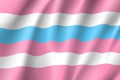 De vlag van de Bigendertrots Royalty-vrije Stock Foto