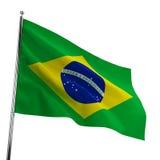 De Vlag van Brazilië vector illustratie