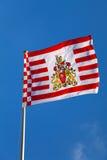De Vlag van Bremen royalty-vrije stock afbeelding