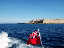 De Vlag van Brittania royalty-vrije stock foto