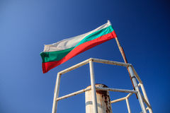 De Vlag van Bulgarije Royalty-vrije Stock Foto's