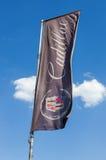 De vlag van Cadillac over blauwe hemel Royalty-vrije Stock Fotografie