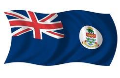 De Vlag van Caymaneilanden Stock Afbeelding
