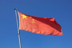 De vlag van China Royalty-vrije Stock Afbeeldingen