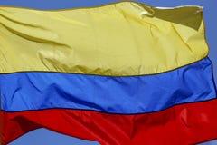 De Vlag van Colombia royalty-vrije stock fotografie