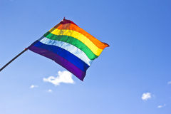 De vlag van Cuzco Royalty-vrije Stock Foto's