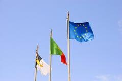 De vlag van de Azoren Royalty-vrije Stock Foto