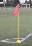 De vlag van de de hoekteller van het voetbal Stock Foto
