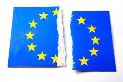 De vlag van de EU royalty-vrije stock foto's
