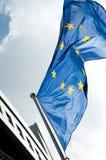 De vlag van de EU Royalty-vrije Stock Fotografie