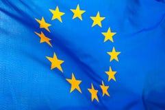 De vlag van de Europese Unie Royalty-vrije Stock Afbeeldingen