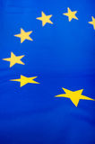 De Vlag van de Europese Unie Stock Foto