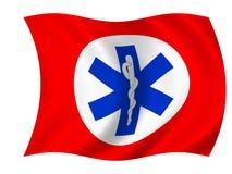 De vlag van de gezondheidszorg Royalty-vrije Stock Afbeeldingen