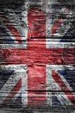 De vlag van de Grungeunie Stock Afbeelding