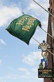 De vlag van de Ierse Republiek Royalty-vrije Stock Fotografie