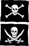 De vlag van de piraat Royalty-vrije Stock Fotografie
