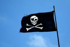 De Vlag van de piraat Royalty-vrije Stock Foto
