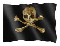 De vlag van de piraat Stock Foto's