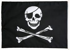 De vlag van de piraat Stock Afbeeldingen