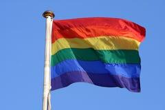 De vlag van de regenboog royalty-vrije stock foto's