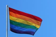 De vlag van de regenboog Stock Afbeeldingen