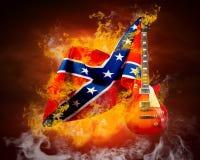 De vlag van de rots Stock Afbeeldingen