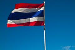 De Vlag van de Slingering van Thailand stock fotografie