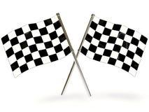 De vlag van de sport Stock Foto's