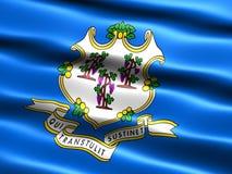 De vlag van de staat van Connecticut Royalty-vrije Stock Foto