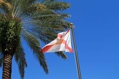 De Vlag van de Staat van Florida Royalty-vrije Stock Foto