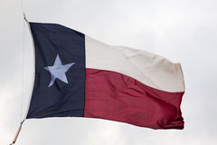De Vlag van de Staat van Texas Stock Foto's